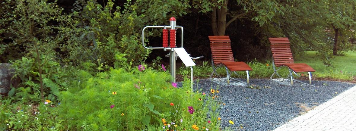 Garten belebt die Gesundheit